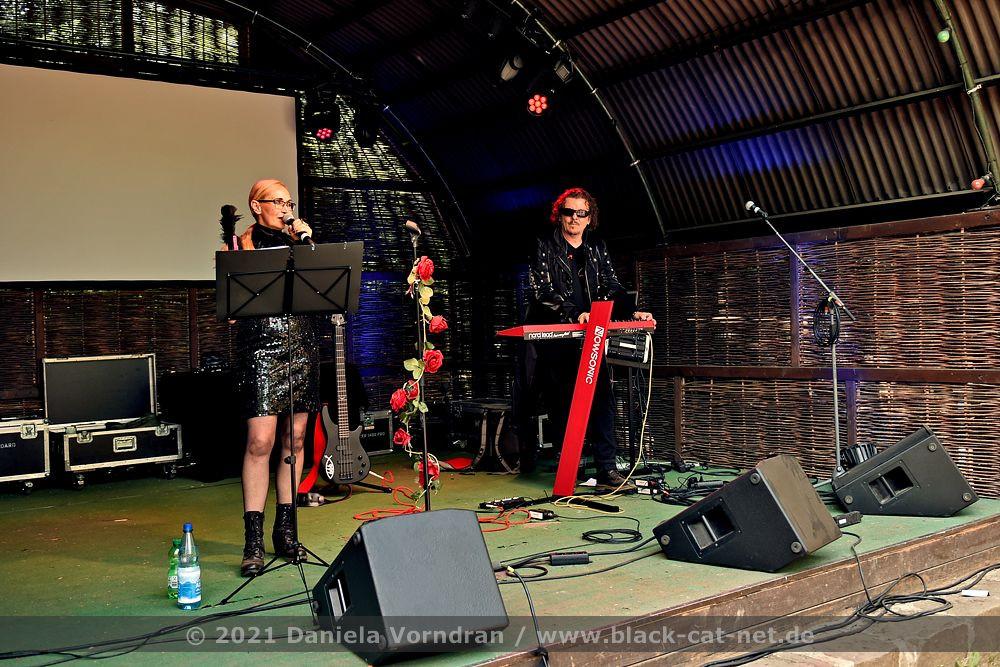 Bettina Bormann beim E-Only Festival am 27.06.2021 im Kulturpark Deutzen (Kulturbühne)